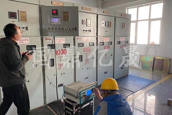 大型电器设备检修